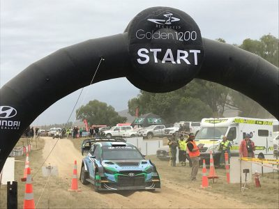 Paddon's Hill Climb Event in New Zealand